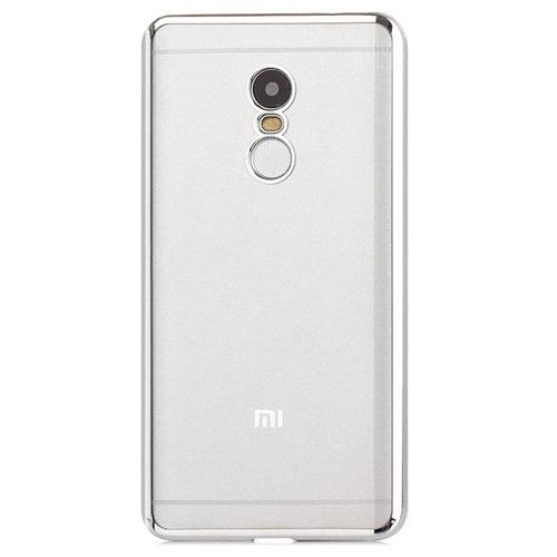 Xiaomi Redmi Note 4 Etui - Electroplasting Silver