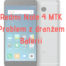 Xiaomi Redmi Note 4 MTK Problem z baterią