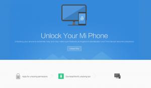 Jak odblokować bootloader w Xiaomi - strona mi phone unlock