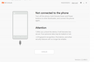 Jak odblokować bootloader w xiaomi - miunlock 3