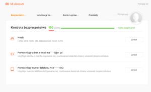 Jak odblokować bootloader w Xiaomi - ustawienia sekcji bezpieczenstwa.