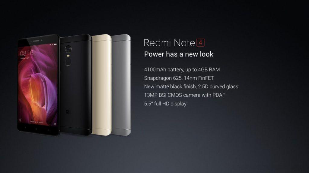 Redmi Note w 2017